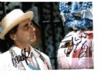 "Sylvester McCoy ""The 7th Doctor"" & David John Pope ""The Kandyman"""